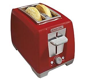 Proctor Silex 2 Slice Bagel Toaster, Red