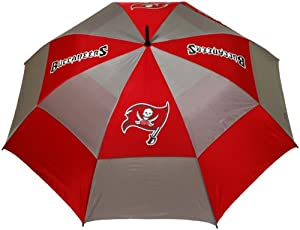 NFL Tampa Bay Buccaneers 62-Inch Double Canopy Umbrella by Team Golf