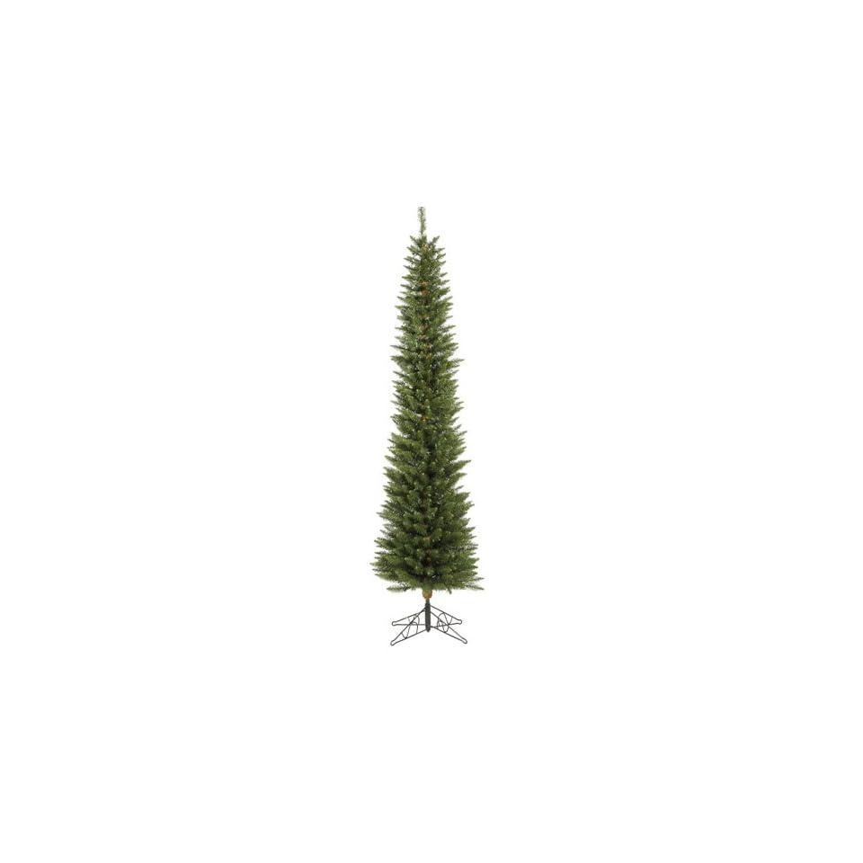 Multi Pre Lit Durham Pole Pine Christmas Tree