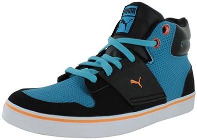 Puma El Ace 2 Mid PN Men's Shoes Fashion Sneakers Blue Size 9.5