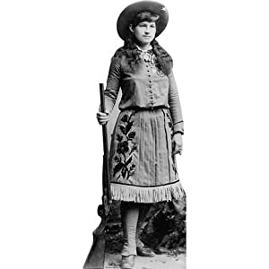 H49037 Annie Oakley Cardboard Cutout Standup Prints Posters Prints