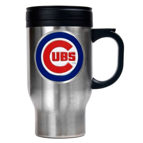 MLB Chicago Cubs Stainless Steel Travel Mug (Primary Logo) at Amazon.com