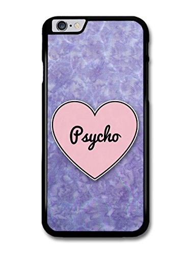Psycho Heart in Lilac Grunge Hipster Background custodia per iPhone 6 Plus 6S Plus