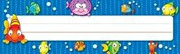 Carson Dellosa Fish Nameplates (122011)