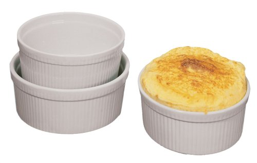 Fox Run 16-Ounce Souffle Dish, White