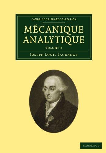 Mécanique Analytique 2 Volume Paperback Set: Mécanique Analytique: Volume 2 Paperback (Cambridge Library Collection - Mathematics)