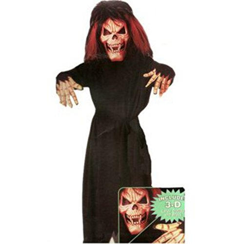 Scary Kids Costumes - Crimson Skullzor Costume Set