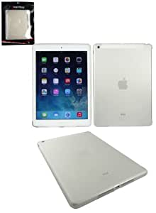 Emartbuy® Apple Ipad Air Ultra Thin Tough Durable Smart Gel Skin Cover Clear - Compatible with Apple Smart Cover For New Apple iPad Air
