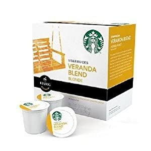 Starbucks Veranda Blend Blonde, K-Cup Portion Pack for Keurig K-Cup Brewers, 16-Count
