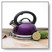 Creative Home Alexa 3.0 Whistling Purple Tea Kettle