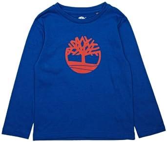 Timberland T25F59 Boy's Long Sleeve T-Shirt: Amazon.co.uk ...
