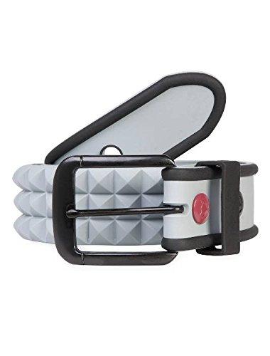 Masterdis C3 Silicone Stud Belt, Color:grey;Größe:L/XL