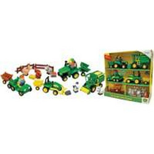 Farm Set Toy 20 Piec John Deer (Pack of 2) - 1