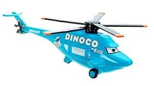 Disney / Pixar CARS 2013 Deluxe OverSized DINOCO HELICPOTER 1:55 Die Cast