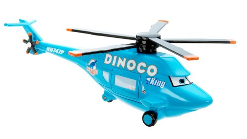 Disney / Pixar Cars 2013 Deluxe Dinoco Helicopter 1:55 Die Cast (1 6 Scale Chopper compare prices)