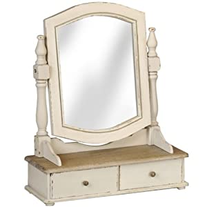 Country Style Vanity Mirror Dressing Table Mirror With
