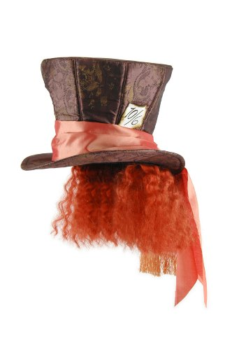 Cappello Cappellaio Matto con capelli -Alice Wonderland_LA2511