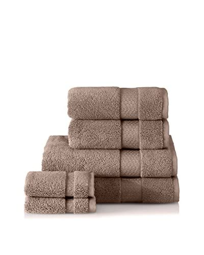 Interio by Schlossberg 6-Piece Towel Set, Earth