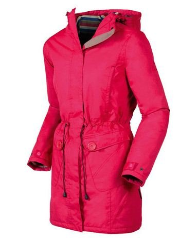 Target Dry Ladies' Astana 3/4 Length Waterproof Coat (16, Winterberry)