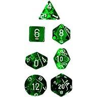 Polyhedral 7-Die Translucent Chessex…