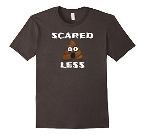 Poop-Emoji-T-Shirt-Idioms-Halloween-Scared-Shtless-Funny