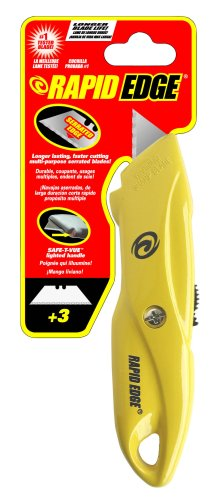 Rapid Tools Rt00001 Rapid Edge Utility Knife With Led Light For Close-Quarters