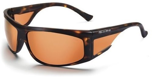 New Bolle Spinner 10701 Dark Tort Fishing Sunglasses