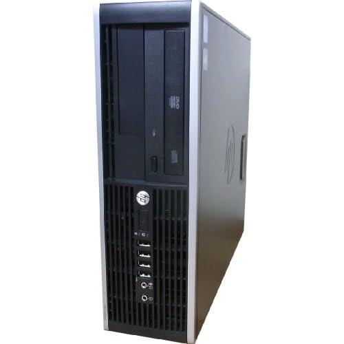中古パソコン デスクトップ HP Compaq 6200 Pro SFF Core i3 2100 3.10GHz 2GBメモリ 250GB DVD-ROM Windows7 Pro 搭載 リカバリーディスク付属 動作保証30日間