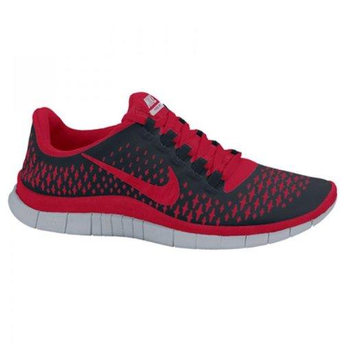 huge discount 7b708 304ee NIKE Free 3 0 V4 Men s Running Shoes Black Red US10 5 ...