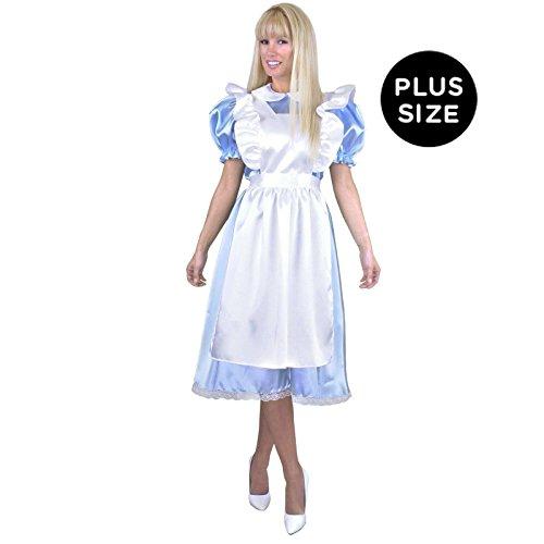 Halloween 2017 Disney Costumes Plus Size & Standard Women's Costume Characters - Women's Costume CharactersCharades Costumes Women's Alice Adult Costume Plus Size