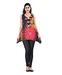Printed Multicolor Tunic by Bfly