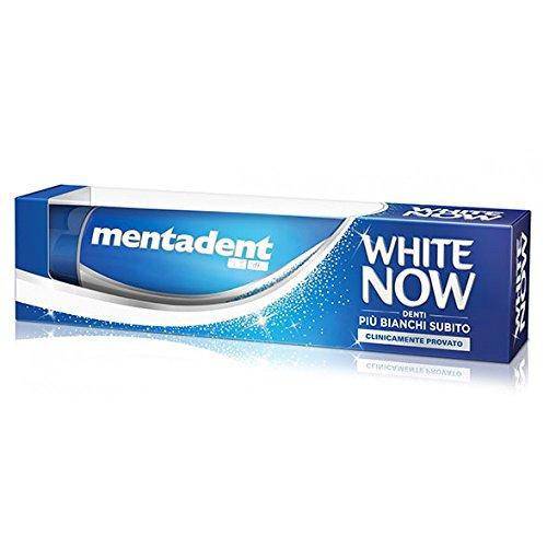 Mentadent Dentifricio White Now 75ml
