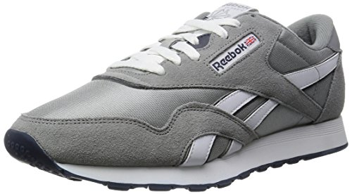 reebok-classic-nylon-men-training-running-shoes-grey-platinum-jet-blue-105-uk-45-eu