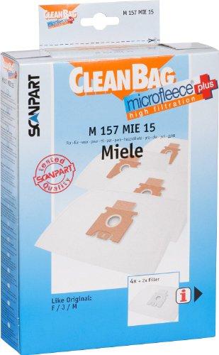 Scan Part M 157 MIE 15 Sacchetti per aspirapolvere Miele F/J/M