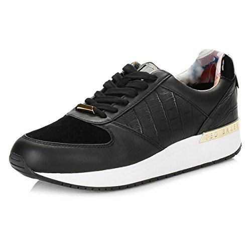 Ted Baker Donna Nero Lwoire 3 Sneaker-UK 4