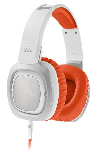 Jbl J88I Premium Over-Ear Headphones With Jbl Drivers, Rotatable Ear-Cups And Microphone - Orange