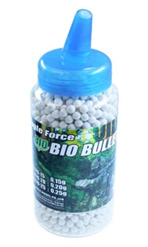 Bio · Bb Bullet 0.20g 2000 Rounds Bottle Input (6mm Bullet Bio) 5379-20