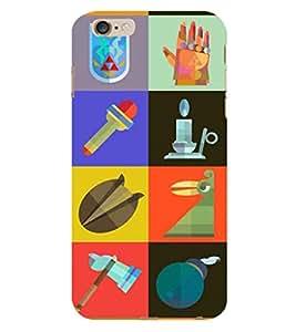 EPICCASE essentials Mobile Back Case Cover For Apple iPhone 6 Plus (Designer Case)