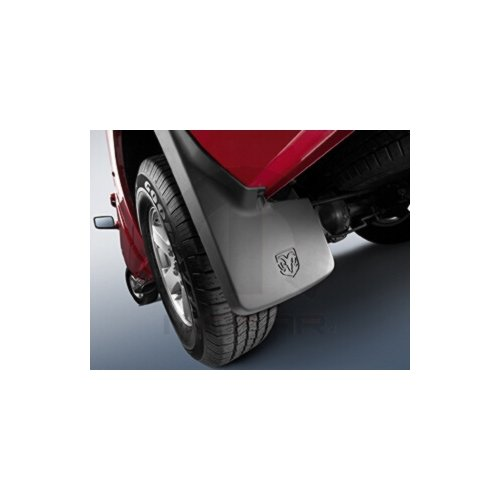Dodge Ram Truck Mopar Molded Splash Guards Mud Flaps - Front & Rear - Set of 4 (Truck Mud Flaps Dodge Ram compare prices)