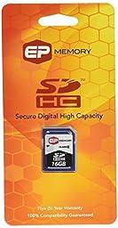 EP Memory 16 GB Flash Memory Card EPSDHC/16GB-6