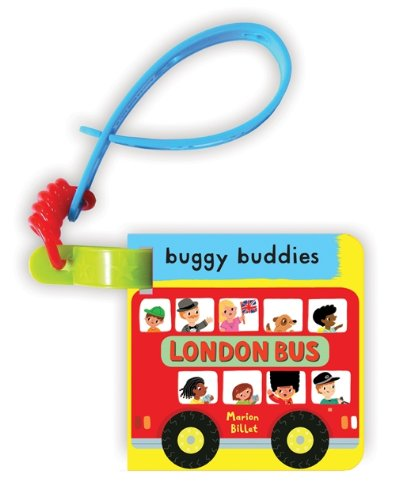 My First London Bus Buggy Buddy: A Crinkly Cloth Book For Babies! (Buggy Buddies) front-80546