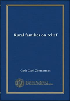 Rural Families on Relief