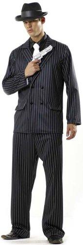 Adult Men's Mafia Halloween Costume (One Size)
