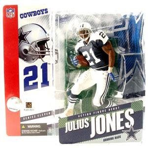 McFarlane Toys NFL Sports Picks Series 11 Action Figure Julius Jones (Dallas Cowboys) Retro Variant