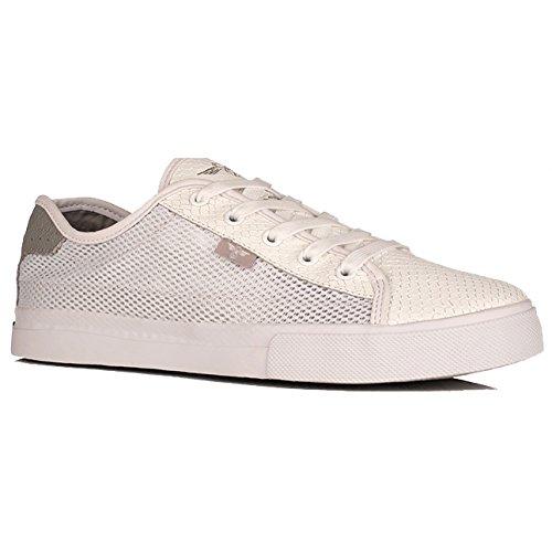 Creative Recreation Men's Kaplan Fashion Sneaker, White/Grey Snake Mesh, 8 M US