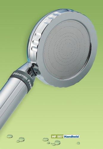 Heaven Fresh Aroma Luxury Showerhead with Vitamin C & Negative Ions - HF 507 (Handheld)