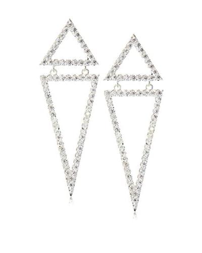 Chloe & Theodora Reverse Pyramid Crystal Earrings
