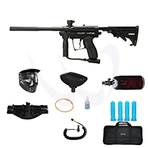 Buy Spyder 2012 MR100 Paintball Marker Gun - Black HPA N2 Ultra Package by Spyder