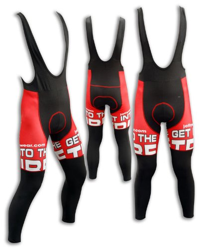 "Buy Low Price JOLLYWEAR Cycling Thermal Bib Tights (""MUSCLE"" collection) (B002VVVCXK)"