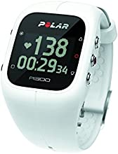 Polar A300 HR Heart Rate/Activity Tracker, White